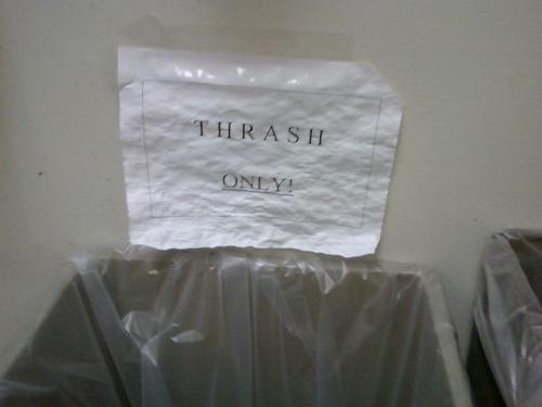 Empty The Thrash