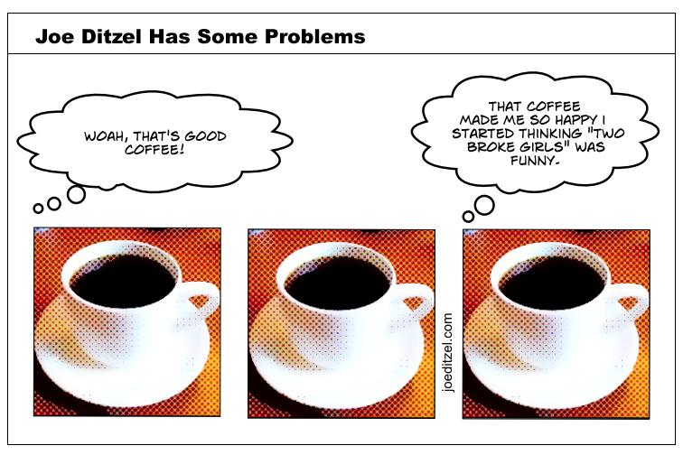 coffee two broke girls