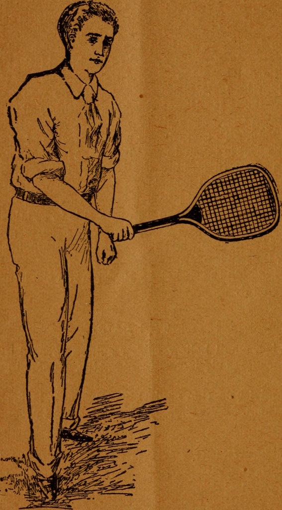 Image from page 11 of The game of lawn tennis_14755739376_l