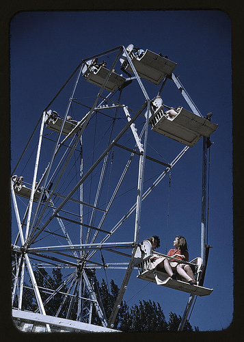 On the ferris wheel at the Vermont state fair, Rutland_2178255715_m