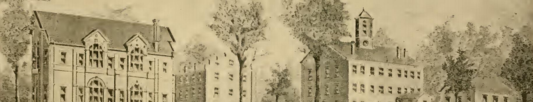 Ohio University Main Campus 1800s