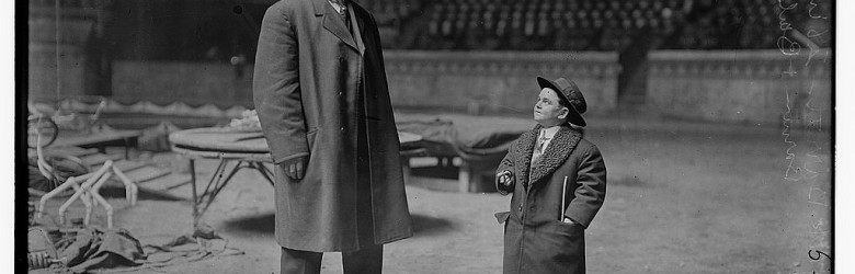 2722108293_e713c07eba_o----jack barrett and Barnum-1910-short-tall-loc via fc