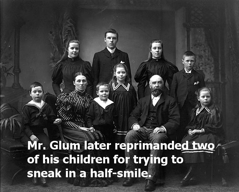 Mr. Glum