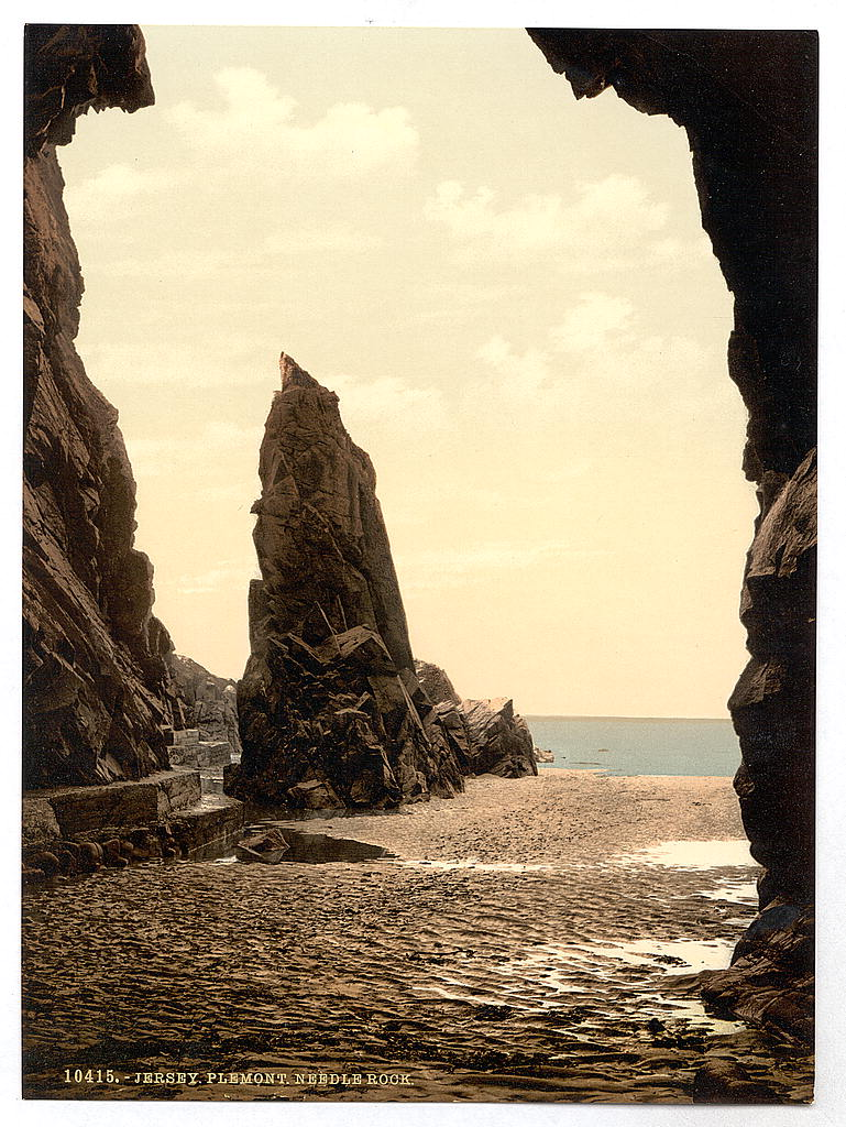 LOC - travel - [Jersey, Plemont Caves and Needle Rock, Channel Islands] (LOC) 8369837365