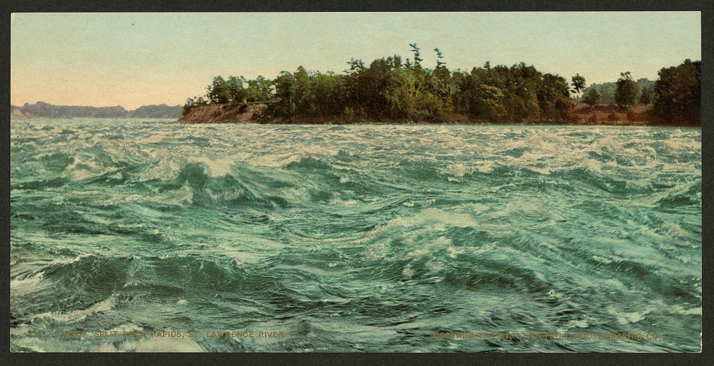 LOC - travel - Split Rock Rapids, St. Lawrence River (LOC) 3662340943