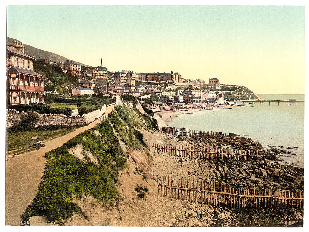 LOC - travel - [Ventnor, from West Cliff, Isle of Wight, England] (LOC) 16333637359