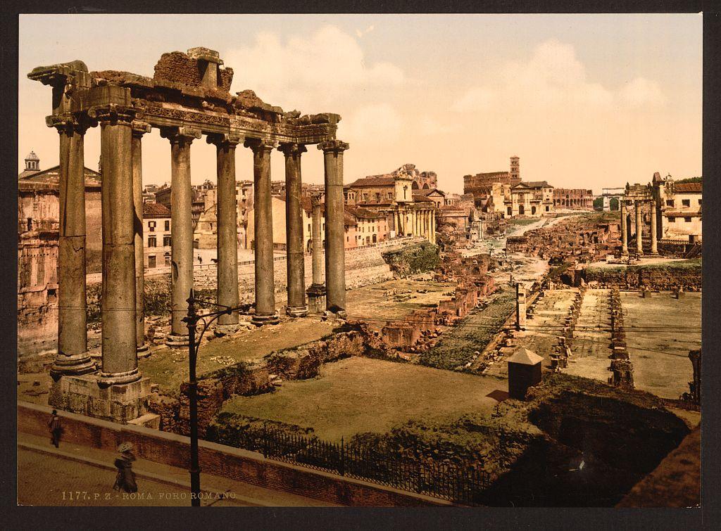 LOC - travel - [View of the Forum, Rome, Italy] (LOC) 4754571503