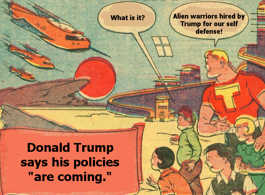 alien warriors hired by trump