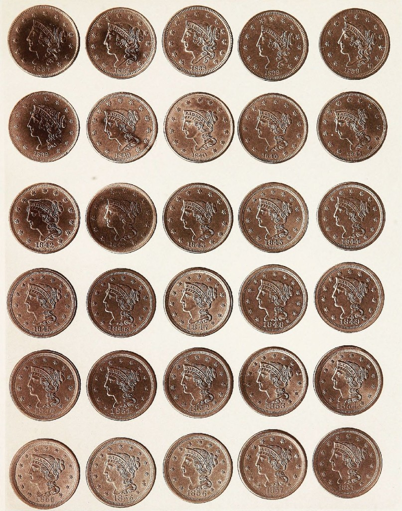 processed - coins - money - cash - investing - Image from page 54 of Monograph of United States cents and half cents issued between the years 1793  14760551916