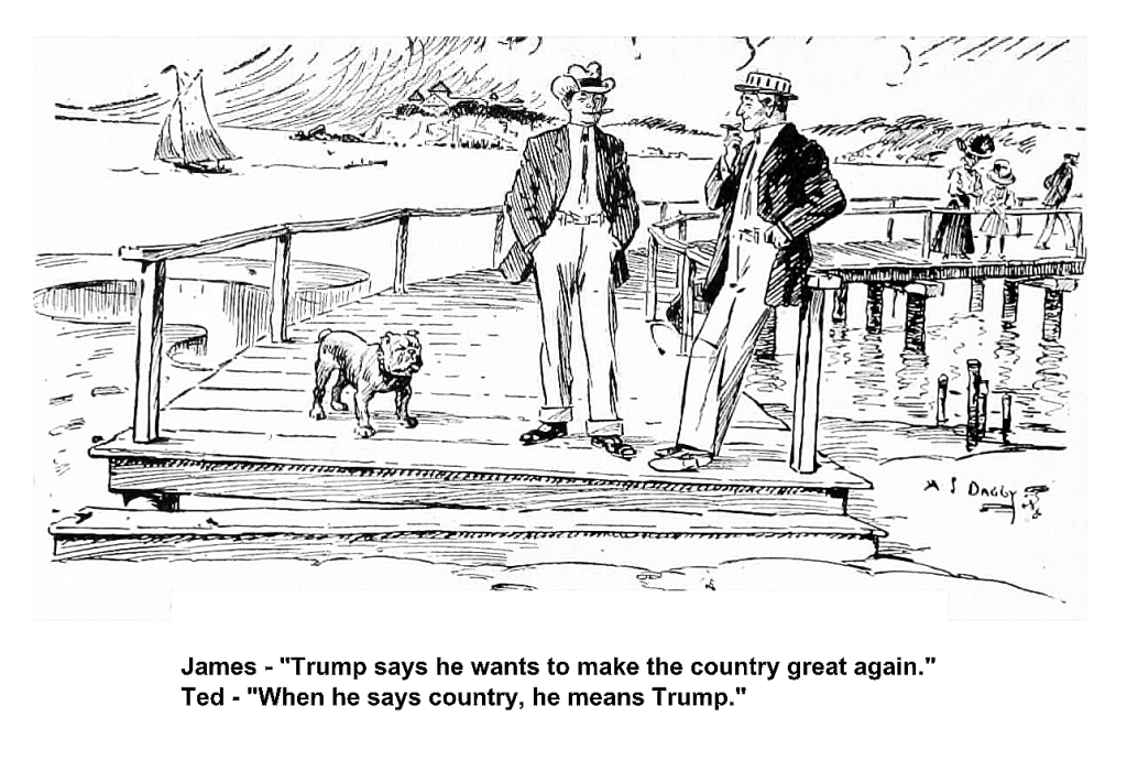trump great again