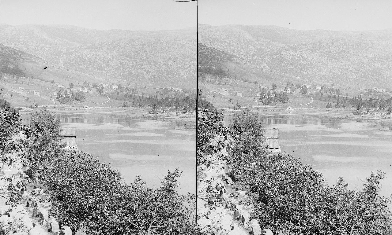 Fylkesarkivet i Sogn og Fjordane-stereo view-Landscape, ca. 1888-1925. 12608921035