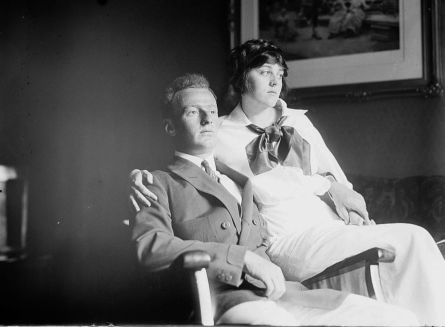 loc-news-1910s----Wm. Weightman 3d and bride (LOC) 3842837722