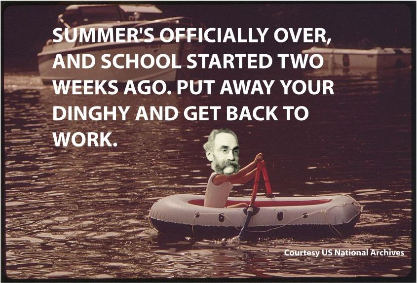 summers officially over meme