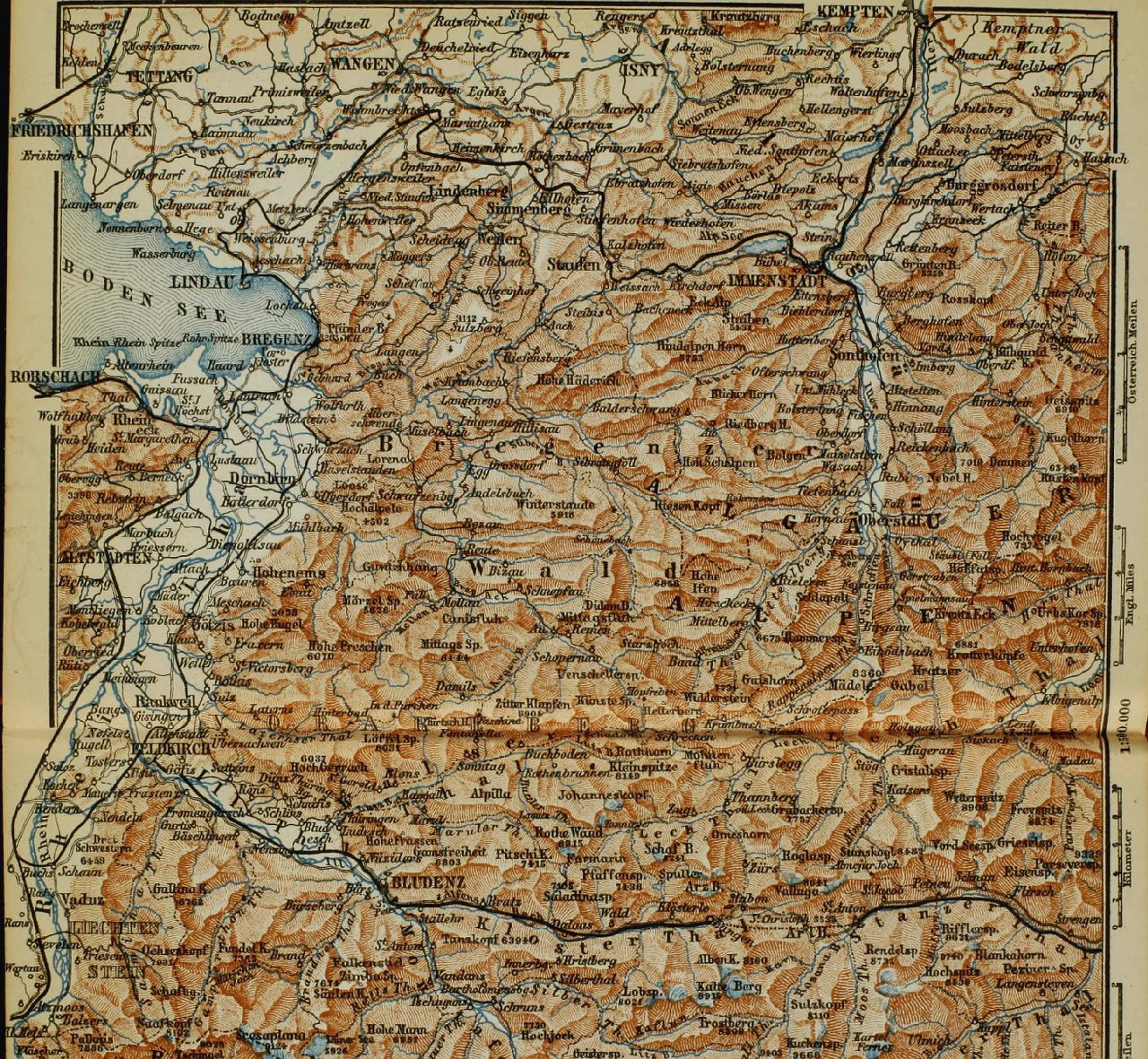 the eastern alps-map-book-internet archive-Image from page 280 of The eastern Alps including the Bavarian highlands, Tyrol, Salzkammergut, Sty 14780779094