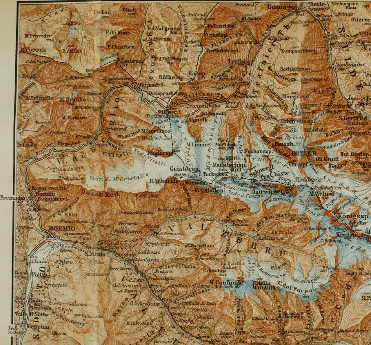 the eastern alps-map-book-internet archive-Image from page 391 of The eastern Alps including the Bavarian highlands, Tyrol, Salzkammergut, Sty 14596480629