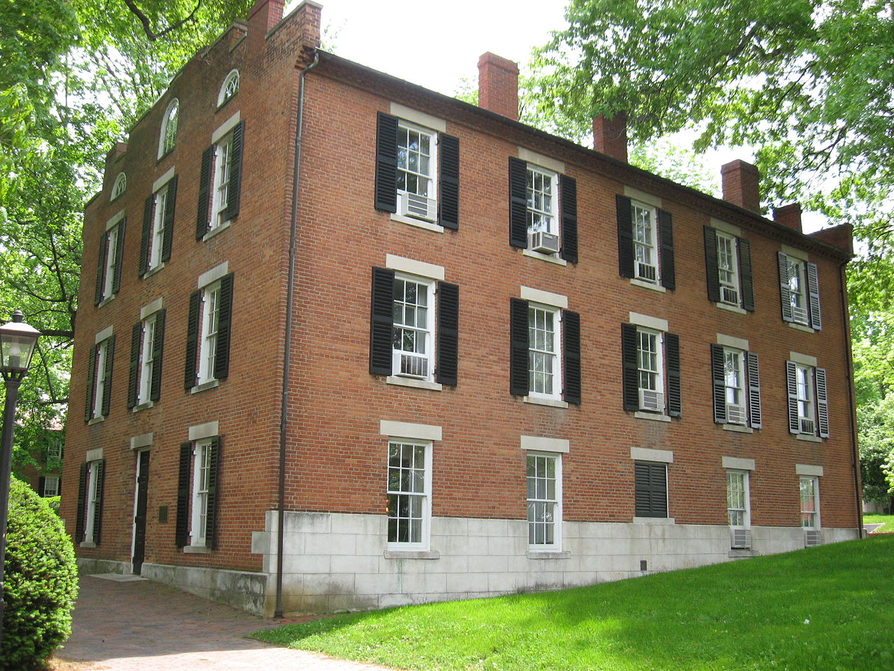 McGuffey Hall at Ohio University - Courtesy Ed! via Wikimedia Commons
