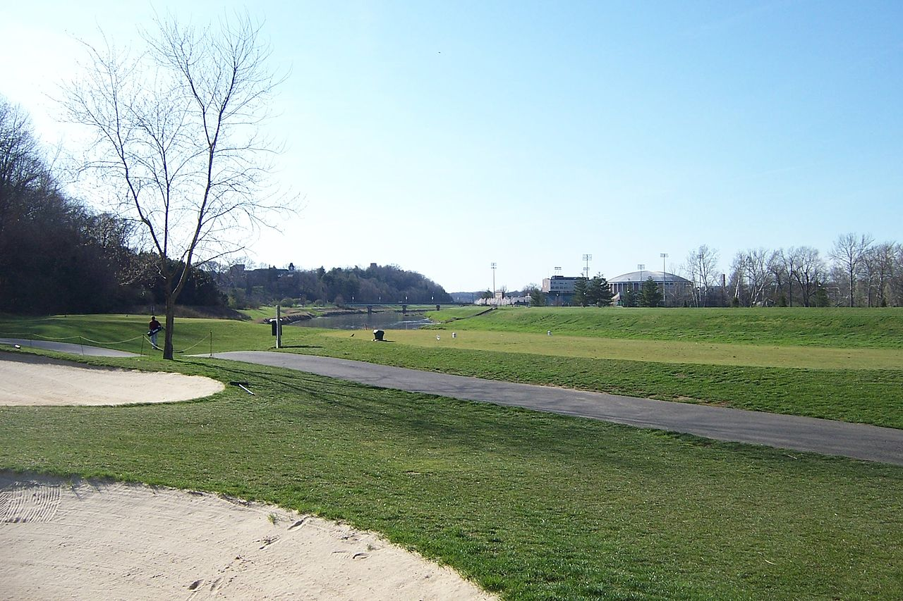University Golf Course at Ohio University - Courtesy Wasted Time R via Wikimedia Commons