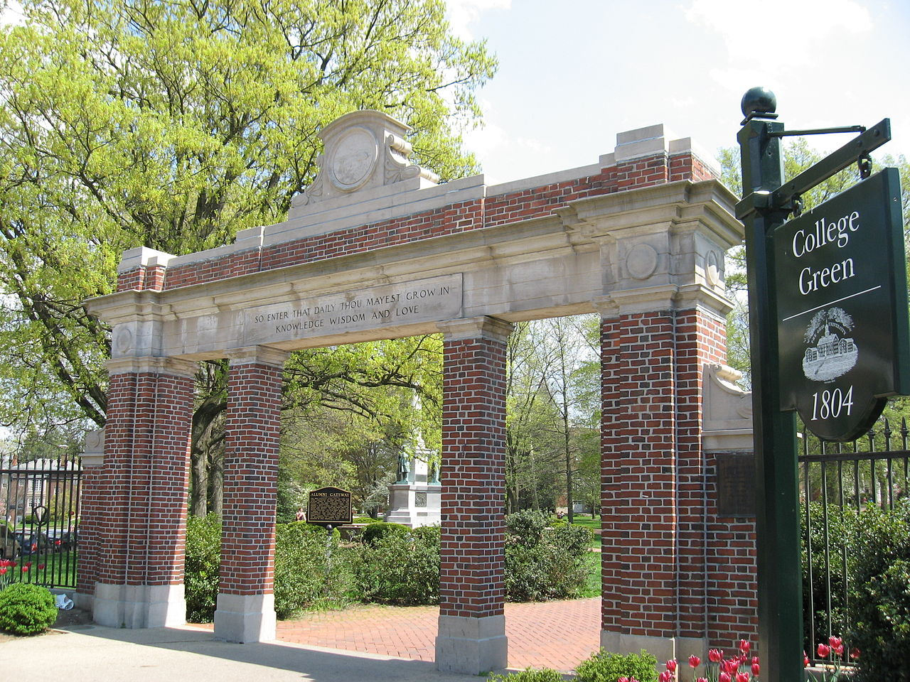 Class Gateway at Ohio University - Courtesy Ed via Wikimedia Commons - CC-BY-SA-3.0