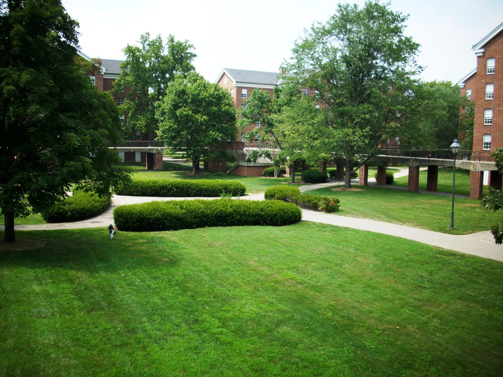South Green at Ohio University - Courtesy Ak169808 via Wikimedia Commons
