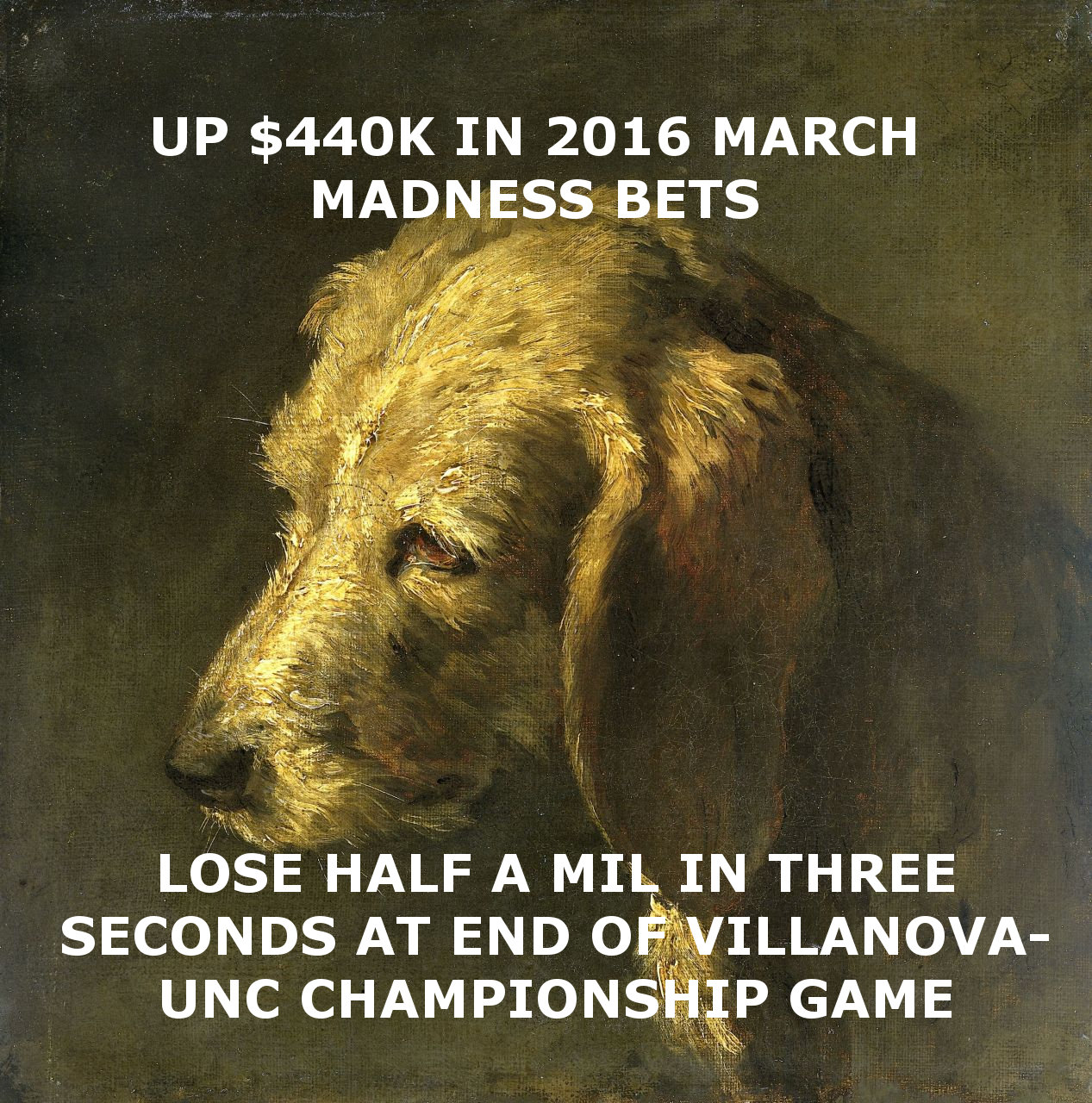 up 440k in 2016 march madness bets
