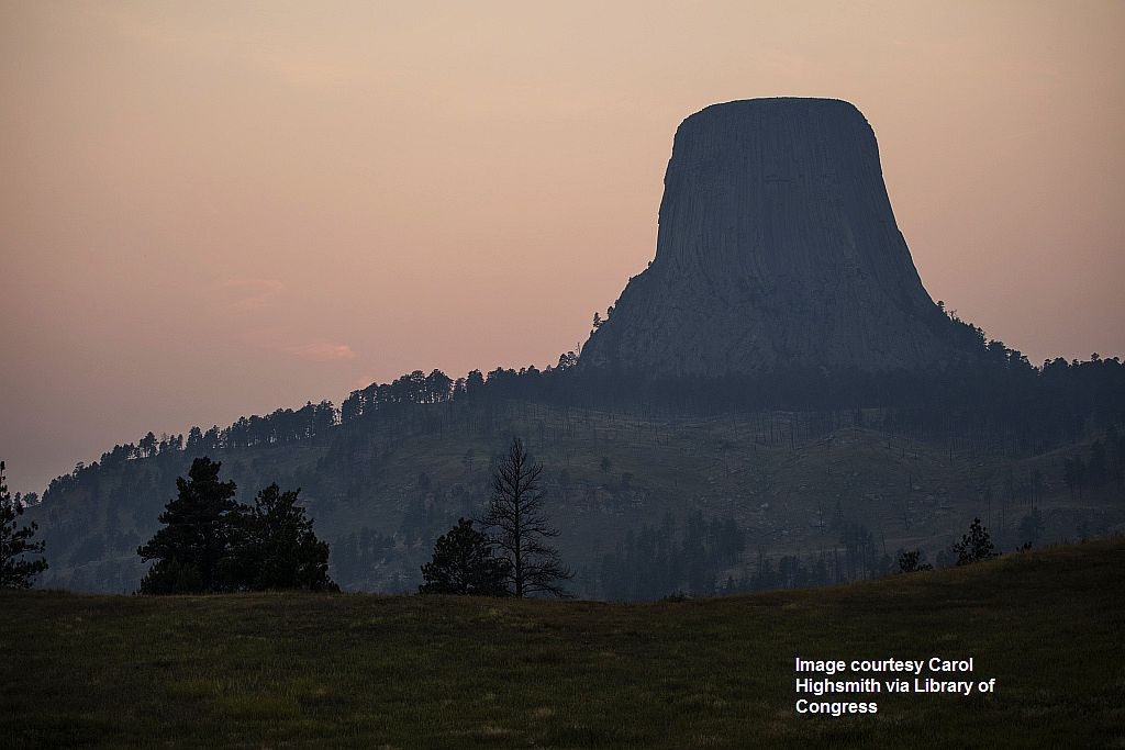 proc-002_Devils Tower, also known by more benign names, including Bear Lodge, by indigenous American Indians,